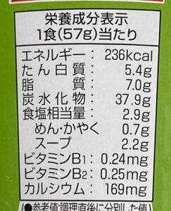 タンメン成分